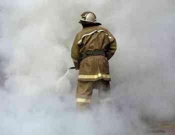 Пожар в муниципальном образовании г. Абаза