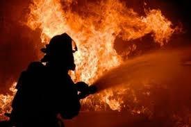 Пожар в муниципальном образовании г. Сорск