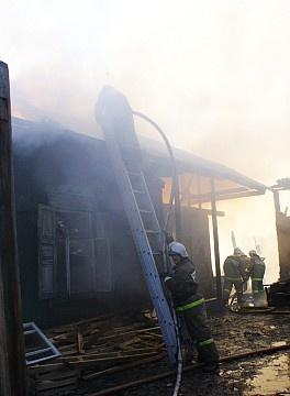 Пожар в муниципальном образовании Аскизский район