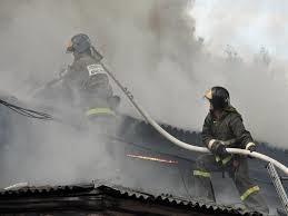 Пожар в муниципальном образовании г. Абакан