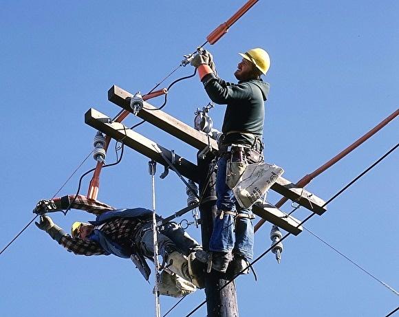 Нарушение электроснабжения в 4-х населенных пунктах муниципального образования Ширинского района