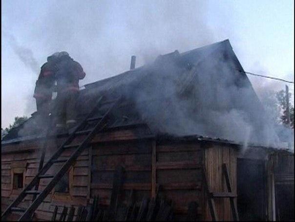 Пожар в муниципальном образовании Ширинский район