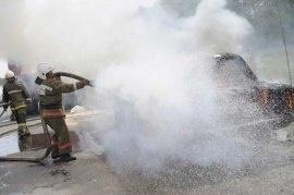 Пожар в муниципальном образовании г. Саяногорск